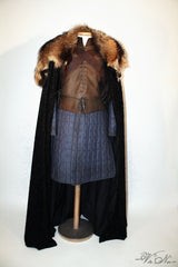 Lord Eddard Stark Game of Thrones Season 1 Ned Cosplay Costume