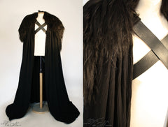 Jon Snow Night's Watch Cape Costume Game of Thrones