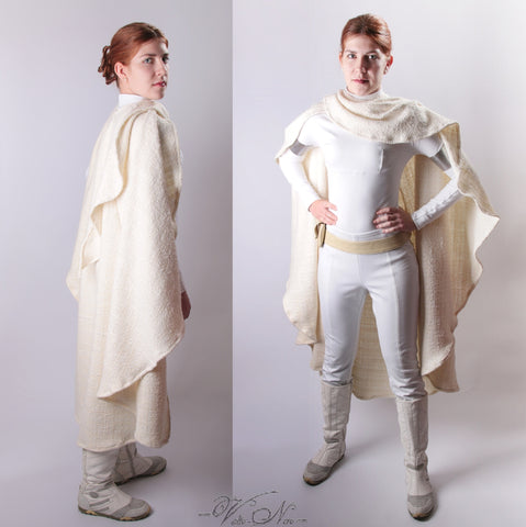 Star Wars Episode II Padme Cosplay Costume Snowbunny Amidala