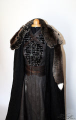 Sansa Stark Season 7 Game of Thrones Feather Gown Costume Dress