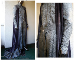 Thranduil Starlight Robe and Cape - The Hobbit Elven Costume Lord of the Rings