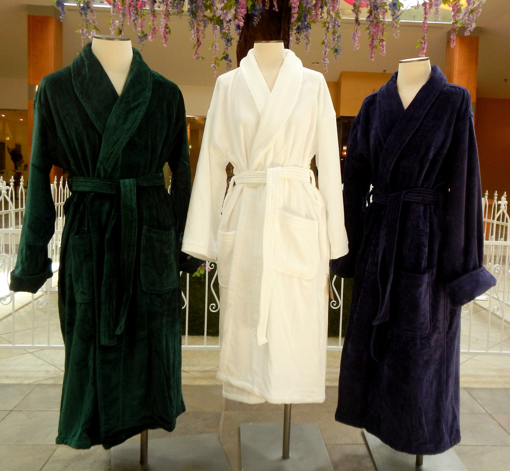 Velour Terry Shawl Robe