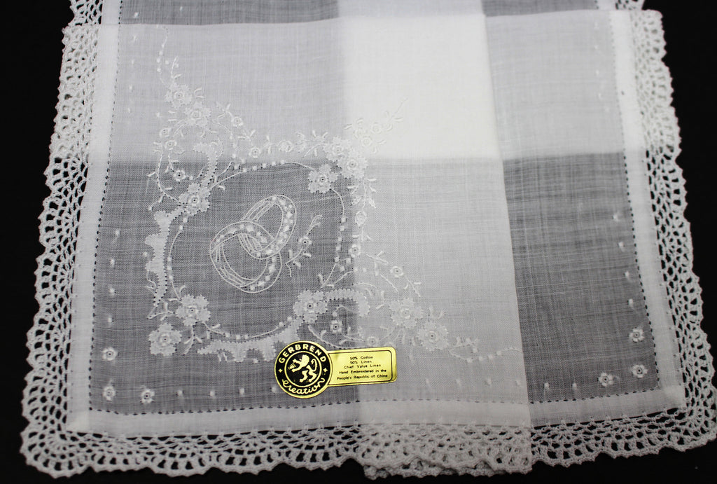 Wedding Ring hankie