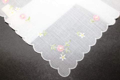 HANKIE Embroidered flowers 8385