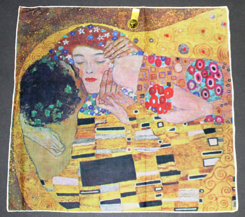 "HANKIE Klimt ""the kiss"""