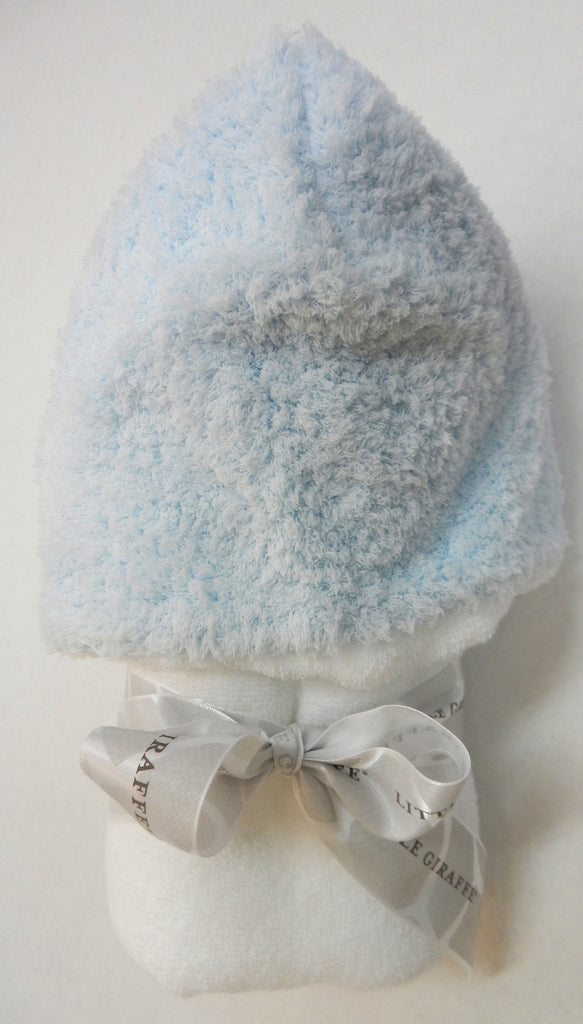 Little Giraffe Chenille Hooded Towel