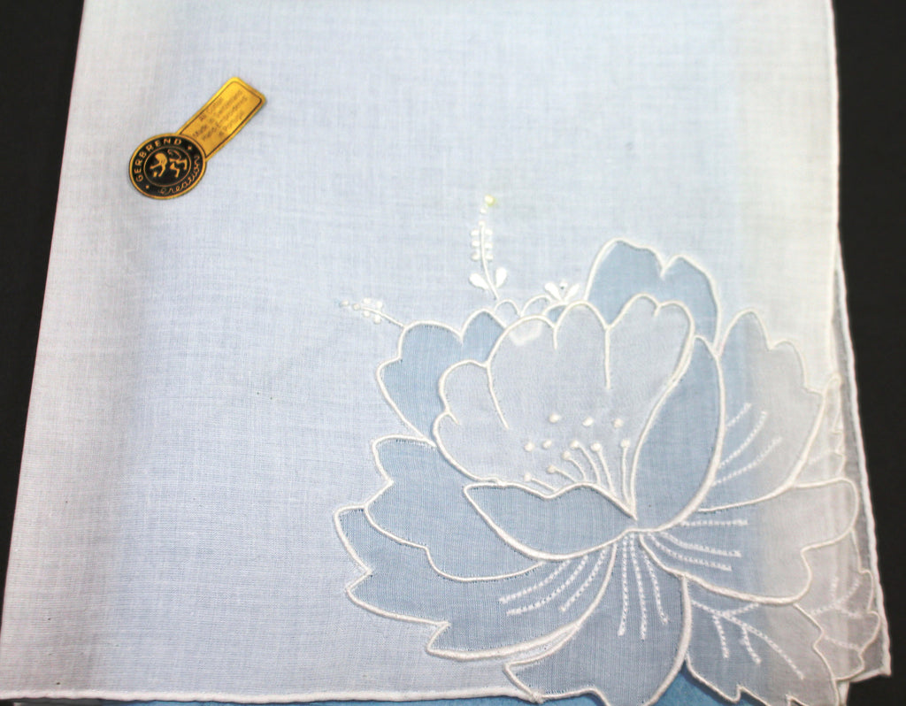 HANKIE Flower Applique