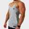 FITTED STRINGER VESTS (GREY)