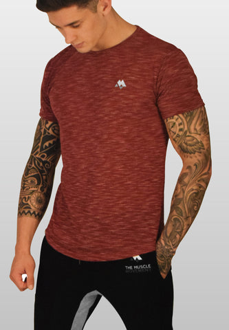 Ultra Heathered Burgundy T-Shirt