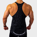 Ultra Heathered Charcoal Stringer