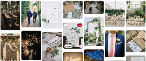 Photobooth Business Brand Identity Pinterest Board