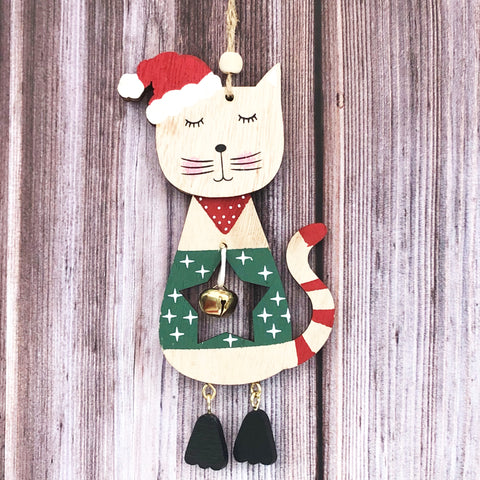 Christmas Cat Decoration