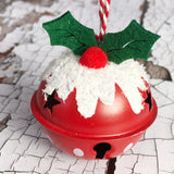 Christmas Pudding Bell Decorations
