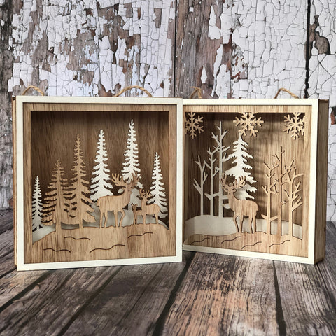 Light up Forest Scene