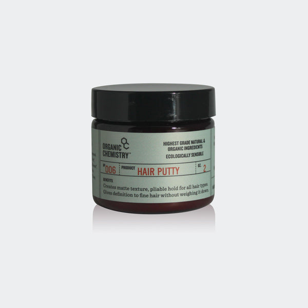 Hair Putty - Organic Chemistry