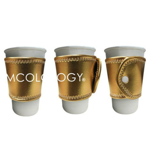 Gold Beverage Sleeve