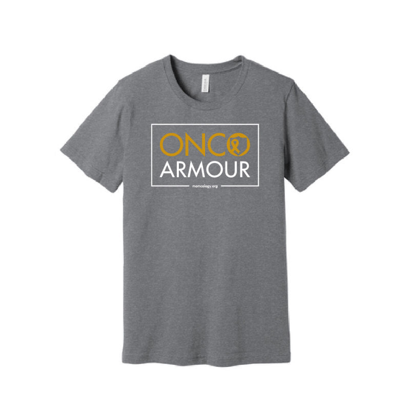 NEW: ONCO ARMOUR T SHIRT W/ SHIELD