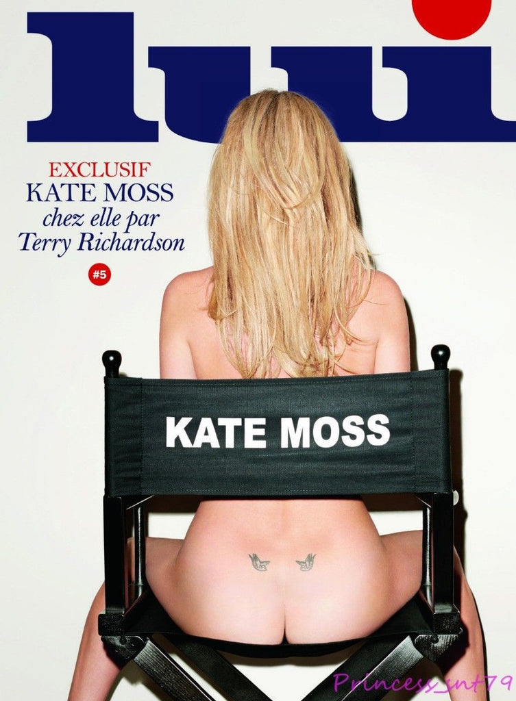 LUI Magazine #5 March 2014 KATE MOSS Terry Richardson SAHARA RAY Purienne