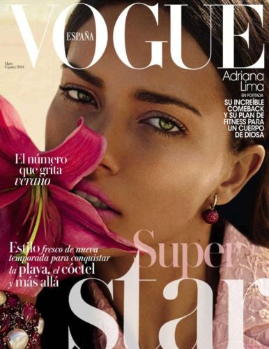 Vogue Spain Magazine May 2014 ADRIANA LIMA Suki Waterhouse MARYNA LINCHUK