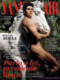 VANITY FAIR Italia Magazine April 2014 ROBERTO BOLLE nude by BRUCE WEBER
