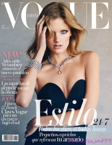 Vogue Spain July 2014 CONSTANCE JABLONSKI Kate Grigorieva ALANA ZIMMER Mariano Vivanco
