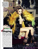VOGUE ITALIA Magazine 2012 BEAUTY IN Cara Delevingne RILEY KEOUGH Codie Young