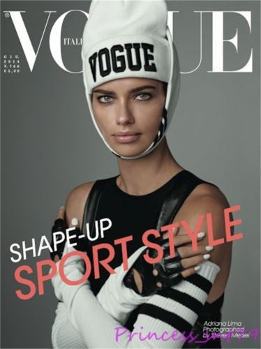 VOGUE Italia Magazine June 2014 ADRIANA LIMA Marique Schimmel JERRY HALL