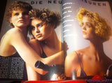 VOGUE Germany Magazine February 1985 MARTINA GATES Yasmin Le Bon LINDA EVANGELISTA