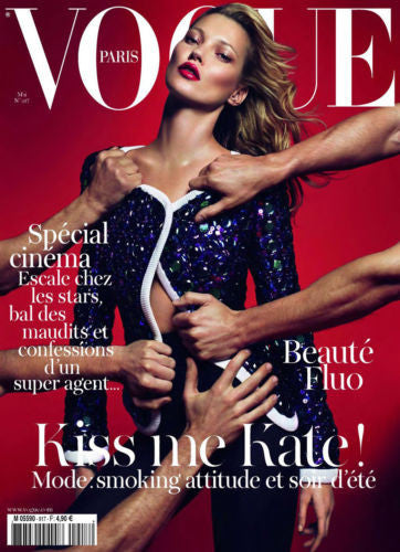 VOGUE Paris Magazine May 2011 KATE MOSS Arizona Muse ANJA RUBIK Karmen Pedaru
