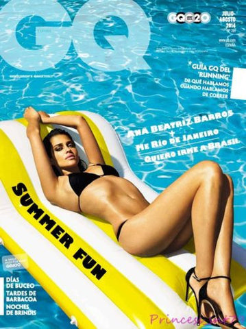 GQ Magazine Spanish 2014 ANA BEATRIZ BARROS Swimsuit STYLE Elton John KATY PERRY