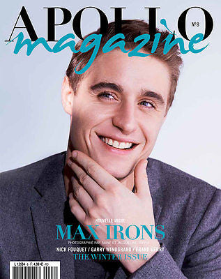 APOLLO MAGAZINE Winter 2014 MAX IRONS Thorben Gartner OTTO LOTZ Filip Hrivnak