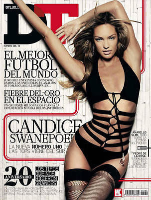 DT Magazine 2012 CANDICE SWANEPOEL Chris Hemsworth KEVIN RICE Sergio Ramos