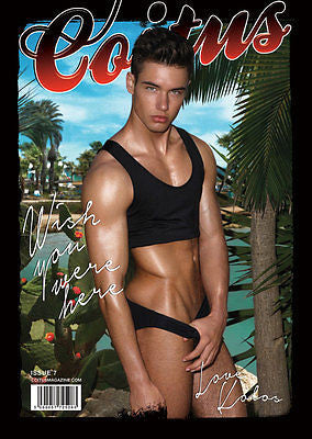 Coitus Magazine #7 KOLOS BALAZS Raul Haydem Guerra YOUTH Male Models GAY Int