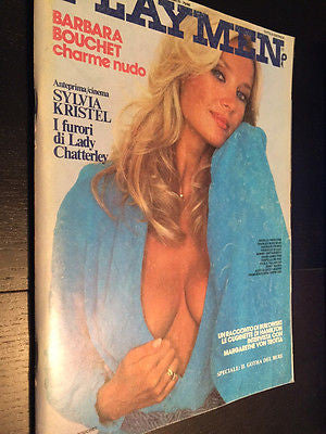 PLAYMEN Magazine November 1981 BARBARA BOUCHET Sylvia Kristel DAVID HAMILTON