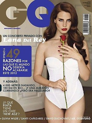 GQ Spain Spanish Magazine 2012 LANA DEL REY Joseph Gordon Lewitt OLIVIA WILDE