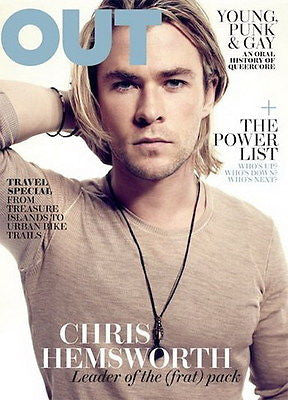 OUT Gay Magazine May 2012 CHRIS HEMSWORTH by Xevi Muntane