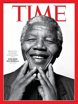 TIME Magazine December 2013 NELSON MANDELA Life [50 pages] Brand New