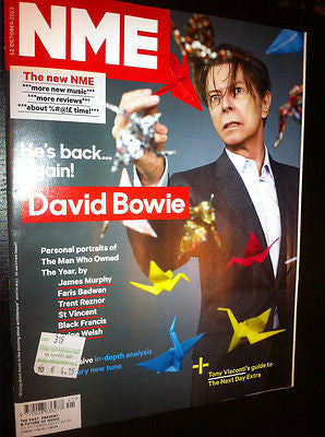 DAVID BOWIE Sid Vicious NME Magazine 2013 Collectors Issue NEW