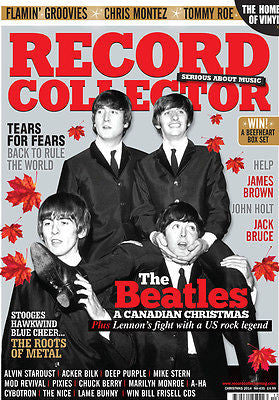 Record Collector Magazine December 2014 BEATLES Tears For Fears JAMES BROWN Jack Bruce