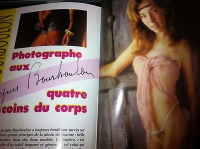 JACQUES BOURBOULON Coquines pictorial * French Vintage Magazine * Rare