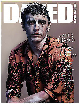 DAZED & CONFUSED Magazine 12/2013 JAMES FRANCO Josh Hein NATASA VOJNOVIC Julia Nobis