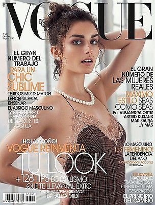 VOGUE Spain Magazine October 2013 ANDREEA DIACONU Toni Garrn KASIA STRUSS Karlina Caune