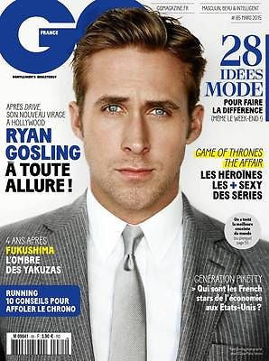 GQ France Magazine March 2015 RYAN GOSLING John Halls