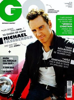 GQ Spain Magazine 2013 MICHAEL FASSBENDER Jessica Chastain CLEMENT CHABERNAUD