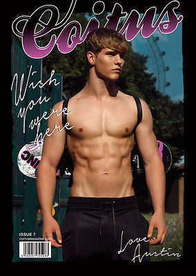 Coitus Magazine #7 AUSTIN SCOGGIN Misa Patinszki * Youth Male Models GAY Int