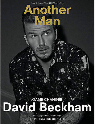 ANOTHER MAN 19 Magazine 2014 DAVID BECKHAM Jennifer Herrema ROVERSI Boyd Holbrook