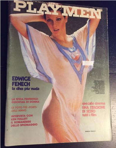 PLAYMEN Magazine August 1981 EDWIGE FENECH Bourgeois SIWER OHLSSON