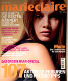 MARIE CLAIRE Germany Magazine October 2001 ANGIE SCHMIDT Lee Radziwill AMY WESSON