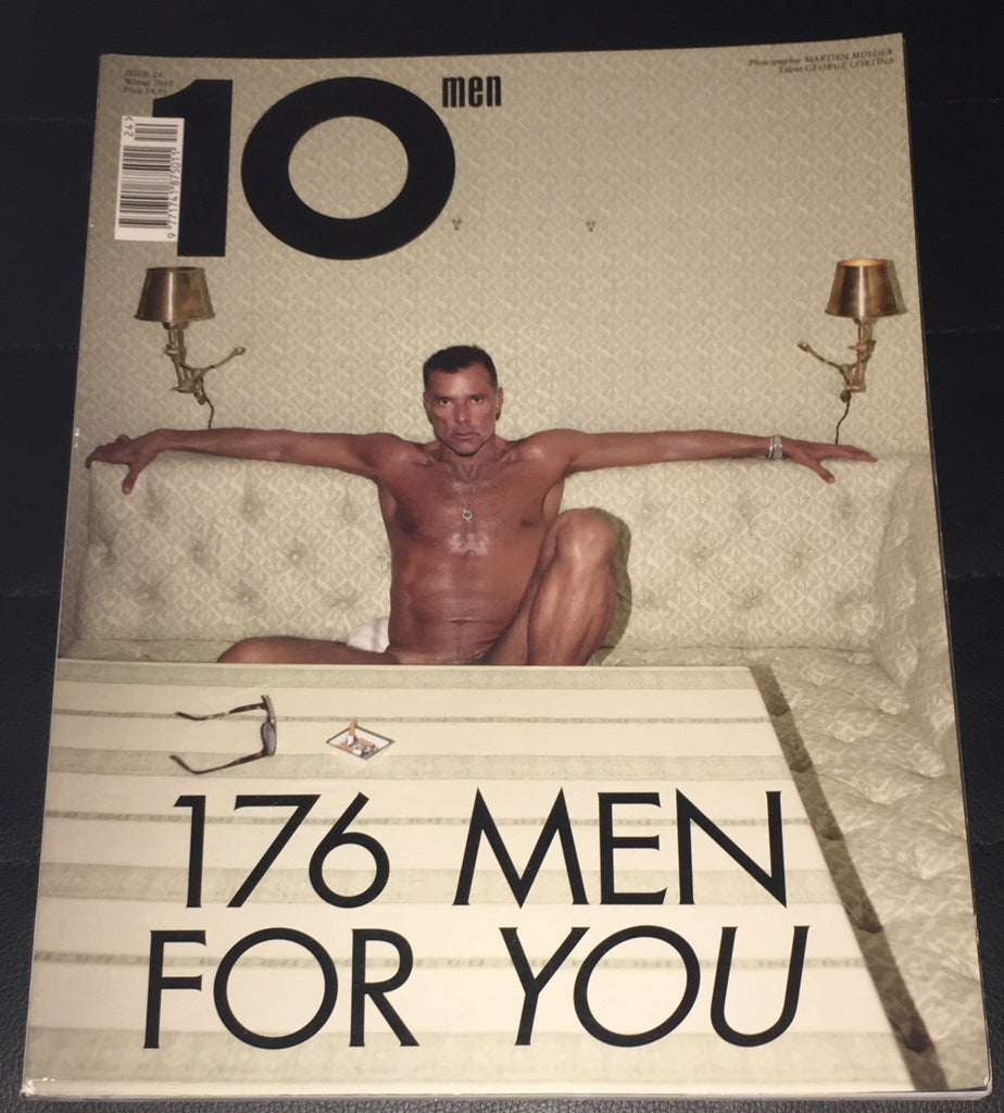 10 Ten Men Magazine Winter 2010 GEORGE CORTINA Tommy Hilfiger EDWARD ENNINFUL