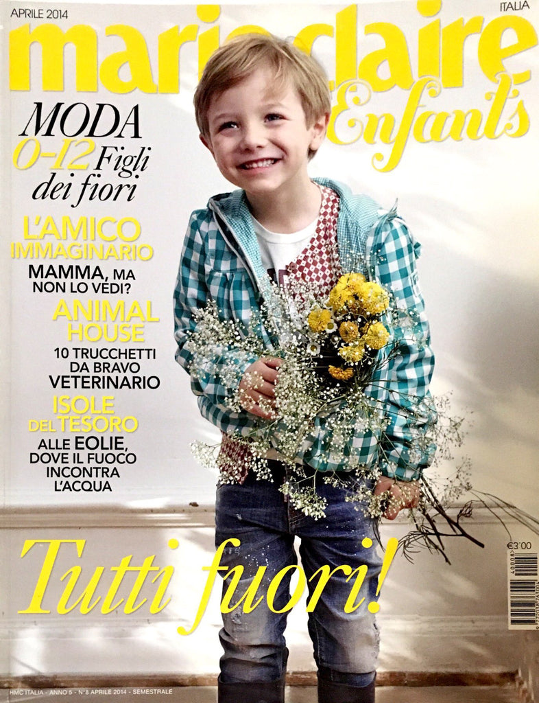 MARIE CLAIRE Italia Enfants April 2014 Kids Children Fashion Magazine